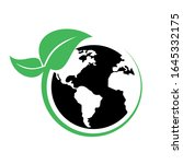 safe earth and ecology icon set | Shutterstock .eps vector #1645332175