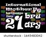 happy international mother...   Shutterstock . vector #1645483042