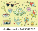 icons and illustrations about...   Shutterstock . vector #1645509262