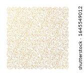 vector gold lineart square... | Shutterstock .eps vector #1645549012
