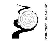 black badge design element... | Shutterstock .eps vector #1645684405