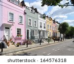 Colourful Old Terraced Houses...