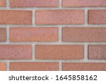 detail of red brick wall...   Shutterstock . vector #1645858162