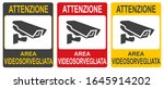 set of stickers of closed... | Shutterstock .eps vector #1645914202