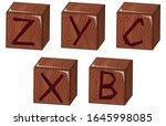bricks vector illustration on... | Shutterstock .eps vector #1645998085