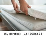 Mattress Topper Being Laid On...