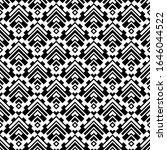 seamless pattern. chevrons ... | Shutterstock .eps vector #1646044522