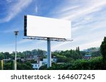 sunset billboards | Shutterstock . vector #164607245