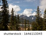 Beautiful Banff Mountain Valley ...