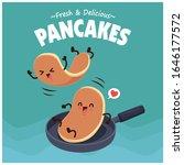 vintage food poster design with ... | Shutterstock .eps vector #1646177572