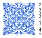 azulejos   portuguese dutch and ... | Shutterstock .eps vector #1646362138