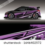 car wrap decal design vector ... | Shutterstock .eps vector #1646402572