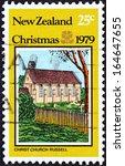 new zealand   circa 1979  a... | Shutterstock . vector #164647655