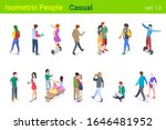 isometric casual people flat... | Shutterstock .eps vector #1646481952