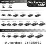 chip package  ssop  | Shutterstock .eps vector #164650982