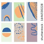 set of creative abstract...   Shutterstock .eps vector #1646530228