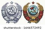 state emblem of soviet union. ... | Shutterstock .eps vector #1646572492