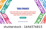Bangladesh business, payment and finance element. Bangladeshi Taka Banknotes money vector template, good for landing page, infographic, web, social media post or other digital and print usage.
