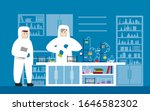 laboratory physics lab... | Shutterstock .eps vector #1646582302