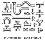 pipes and tubes  plumbing and...   Shutterstock .eps vector #1646598505