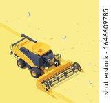 vector isometric combine... | Shutterstock .eps vector #1646609785