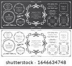 beautiful decoration set ...   Shutterstock .eps vector #1646634748