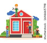 House Repair Workers Tools...