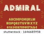 abc font alphabet script... | Shutterstock .eps vector #1646685958