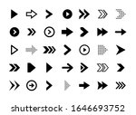 super set different arrows mark.... | Shutterstock .eps vector #1646693752