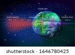 the light spectrum of waves... | Shutterstock .eps vector #1646780425