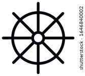 dharmachakra. wheel of dharma   ... | Shutterstock .eps vector #1646840002