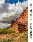 Historic schoolhouse in Fruita, near Capitol Reef NP, Utah