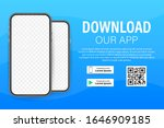 download page of the mobile app....   Shutterstock .eps vector #1646909185