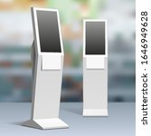 mockup payment information...   Shutterstock .eps vector #1646949628