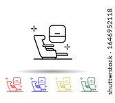 first class chair  airport...