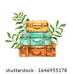 Vintage Travel Suitcase...