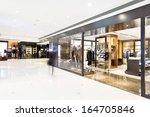corridor in modern shop | Shutterstock . vector #164705846