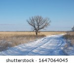 Russian Winter Scenery With...