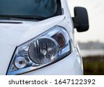 Headlight of modern prestigious ...