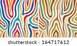 vector set colorful zebra...