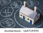 house bubble boom presentation... | Shutterstock . vector #164719595