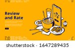 restaurant rate  customer... | Shutterstock .eps vector #1647289435