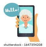 call on your smartphone ... | Shutterstock .eps vector #1647354208
