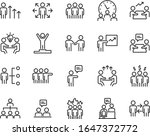set of business people icons ... | Shutterstock .eps vector #1647372772