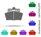 front view ship  transport in...