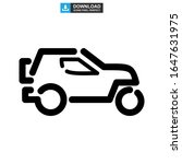 off road vehicle icon or logo... | Shutterstock .eps vector #1647631975
