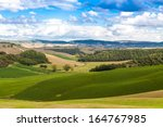 fields  hills  agriculture in... | Shutterstock . vector #164767985