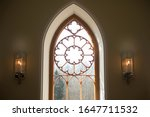 Large Arched Window Detail...