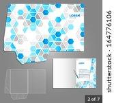 folder template design for... | Shutterstock .eps vector #164776106