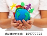 life on earth   environment and ... | Shutterstock . vector #164777726